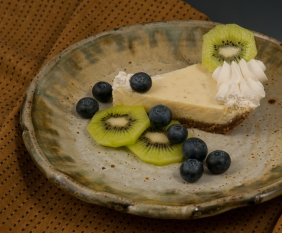 Key Lime Pie - Plate by Marcia Paul