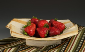 Strawberries - Marcia Paul Bowl