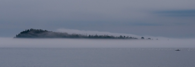 Lake Superior - Island Fog - Minnesota