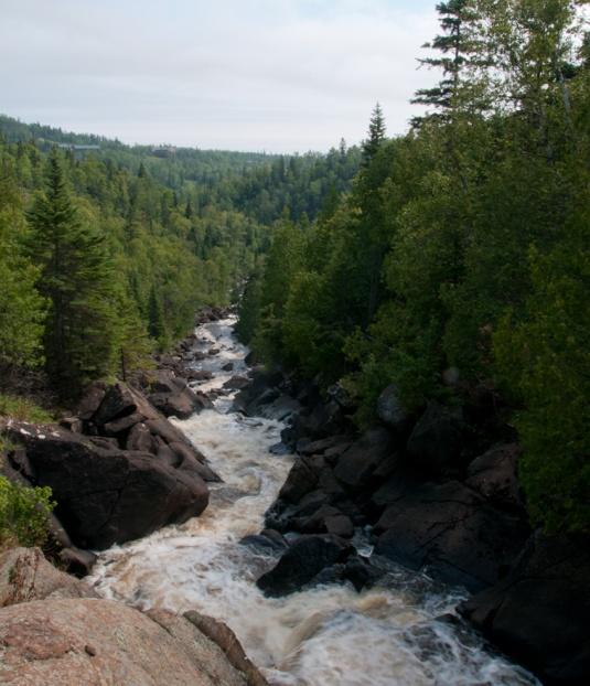 Poplar River Falls - Minnesota