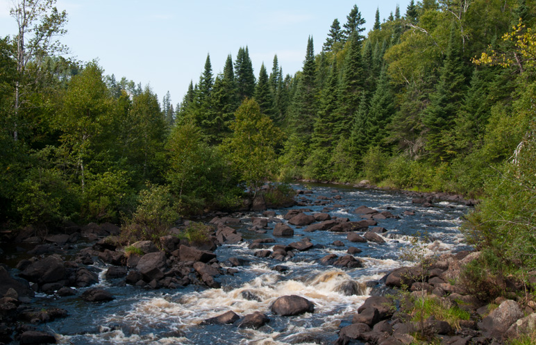 Poplar River Rapids - Minnesota