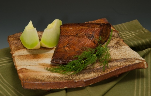 Smoked Salmon - Platter by Dick Cooter