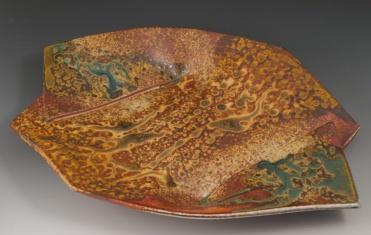 Overlapped Tray - MaashaClay Pottery
