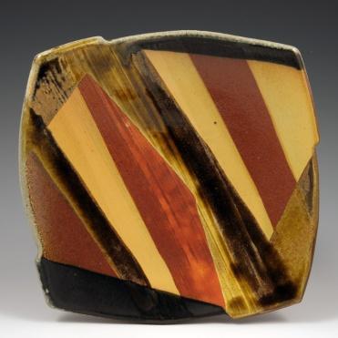 Soda Fired Plate - MaashaClay Pottery