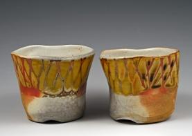 Wine Tumblers - MaashaClay Pottery
