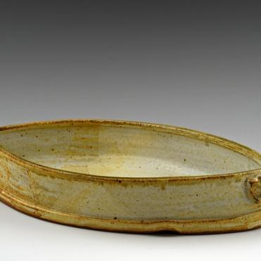 Almond Baking Dish - MaashaClay Tableware