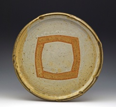 Platter with Gold Rim - MaashaClay Pottery