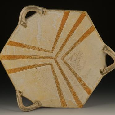 Six-Sided Platter - MaashaClay Tableware
