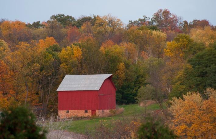 Autumn Color - Wisconsin Barn