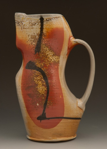 Soda Fired Pitcher - by Sandra Shaughnessy