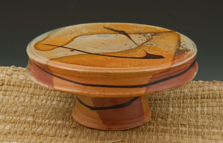 Cake Stand - Marcia Paul Pottery