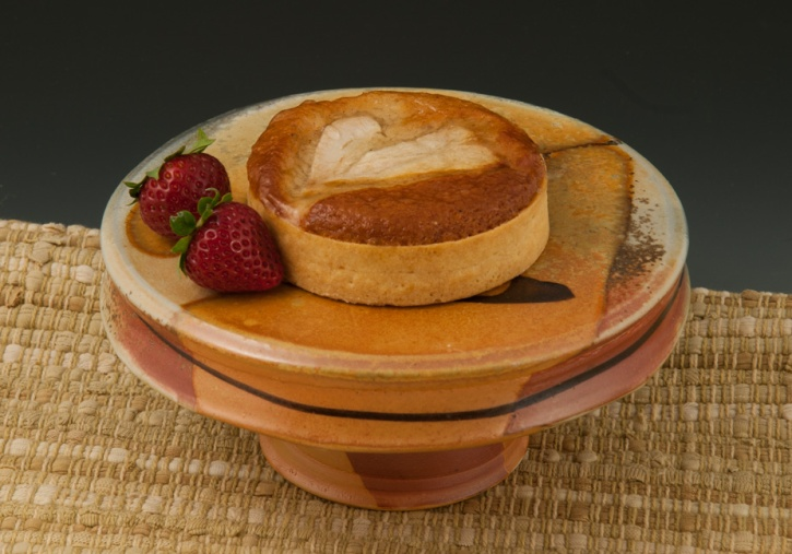 Cake Stand with Pastry - Marcia Paul Pottery