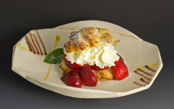 Strawberry Shortcake - Mark Pharis Plate