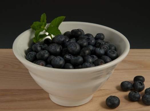 Blueberries - Sarah Jaeger Bowl
