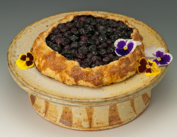 Blueberry Crostata - Marcia Paul Cake-Stand