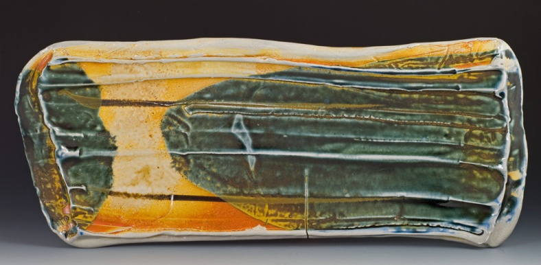Soda Fired Tray - Artist Sandra Shaughnessy