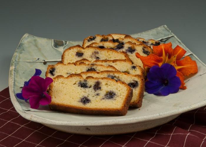 Lemon Loaf Cake - Platter by Matt Krousey